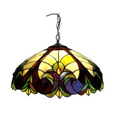 Swag Lamps That Plug In | Chloe-Lighting-Tiffany-Style-Victorian-Hanging-Lamp.jpg