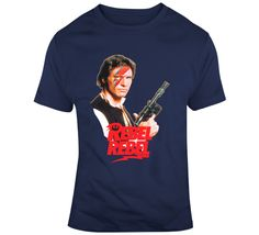 Han Solo Rebel Rebel  T Shirt Han Solo, Movie T Shirts, Gifts For Friends, Rebel, Mens Tops, Movies, How To Make, Stuff To Buy, Films
