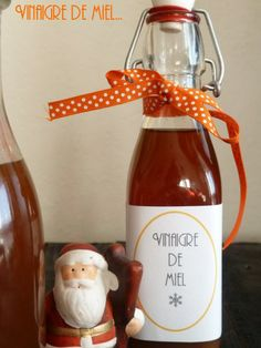 I wanted to try honey vinegar, but difficult to find . Marinade Sauce, Creole Recipes, Gourmet Gifts, Christmas Cooking, Diy Christmas Gifts, Hot Sauce Bottles, Tupperware, Diy Gifts, Homemade