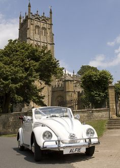 Wedding Beetle at Chipping Campden church, Gloucestershire.