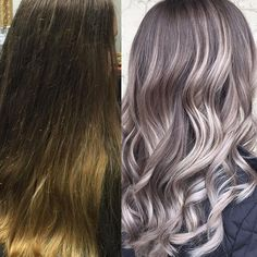 A little blonde, a little silver! @jesbeautyobsessed told us all about this amazing smokey color correction