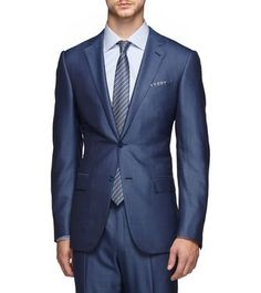 Sick all blue suit by Emeraldo Zegna