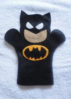 Felt Puppet Batman