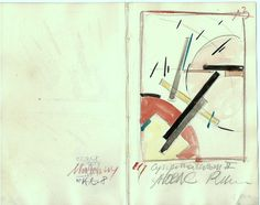 The Athenaeum - Malevich Sketchbook, # K 2 - 13 (Kasimir Malevich - )