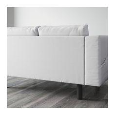 NORSBORG 2-seters sofa - Finnsta hvit, grå - IKEA
