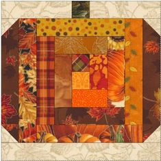 Pattern Blocks, Quilt Patterns Free, Quilted Placemat Patterns, Fall Placemats, Square Patterns, Free Pattern, Sewing Patterns, Pumpkin Quilt Pattern, Halloween Quilts