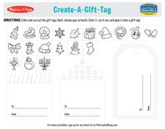 3 Free Christmas Printables to Make Christmas Extra Special | Melissa & Doug Blog