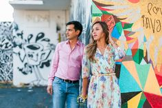 Fine Art Photographer in Mami - Engagement images in Graffiti Land Miami's Walls of Wynwood - Photographred by Award Winning Miami wedding Photographer #ezekiele #engagementphotos #miamiphotographers #miamiweddingphotographers #fineartphotographers #fineartphotography