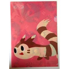 Pokemon Center 2014 Pokemon Time Campaign #7 Furret A4 Size Clear File Folder