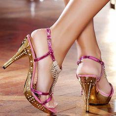 Escarpins à plateforme fuchsia femme elasthomère talons de 11 cm taille 36, en vente sur la boutique en ligne Modatoi. Achetez en