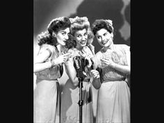 ▶ Chattanooga Choo Choo - The Andrews Sisters w/onscreen lyrics - YouTube