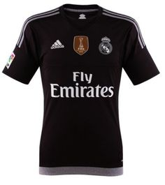 Adidas Mens Shirts Goalkeeper Real Madrid CF 2015-2016  Goalkeeper jersey for the first team of Real Madrid CF for the 2015-2016 season. Regular adjustment.  Fabric CLIMACOOL: Total control of heat and sweat. Power the body ventilation.  Shield of the Club. Thermally transferred logo on back of neck  -If you are interested please contact us and tell us what your purchase is going to be.   Color: Black/Grey 100% Polyester Size: S. M. XXXL