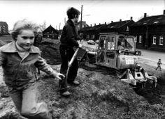 spielende Kinder in Essen-Katernberg