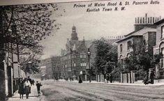 Prince of Wales Road, Kentish Town Camden London, Camden Town, North London, Old London, London History, Barnet, Prince Of Wales, Old Photos, Taj Mahal
