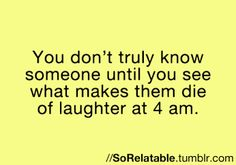 So true @Elise Haynes @Jessica Voss ... It wasn't 4 in the morning, but the follower retreat was the BEST!... Plus all our sleepovers :)