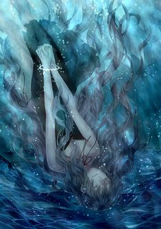 anime girl. this picture kinda describes how life feels right now.