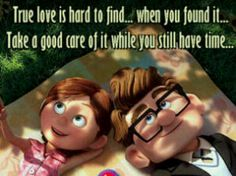 Movie: Up (2009) Source: Best Couples from Movies - Life is ...