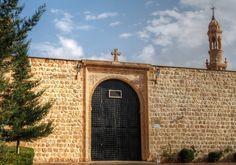 Mor Abrahom Hobel Monastery in Midyat, Mardin, Turkey
