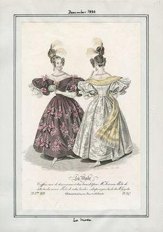 La Mode December 1833 LAPL