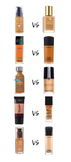 Why splurge when you can save and still look #flawless using one the best #drugstore foundations #dupes?