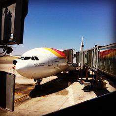 #volando a #los #angeles #california #usa #viajes #iberia #a340-800   Flickr: Intercambio de fotos