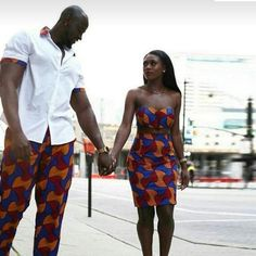 African couples clothing, African couple's dress, Ankara dress for couples, African print wax. African Inspired Fashion, African Print Fashion, Africa Fashion, African Fashion Dresses, Ankara Fashion, African Prints, African Fabric, African Wear, African Attire