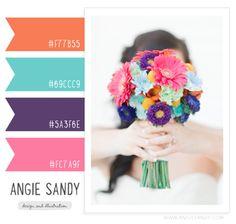 color palette - Angie Sandy Art Licensing & Design