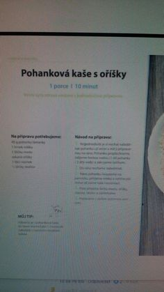 Pohankova kase Good Food, Food And Drink, Cards Against Humanity, Diet, Clean Eating Foods, Eat Right, Yummy Food
