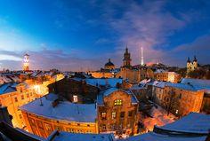 Фотография крыши Львова / Alex K / photographers.com.ua