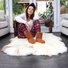 Fur Rug, Bleach Dye, Sheepskin Rug, Large Rugs, Unique Colors, Bespoke, Organic, Pure Products, Colouring