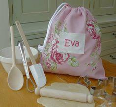 Personalised Floral Baking Set