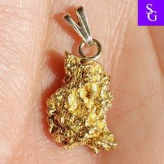 Australian Natural Solid Yellow Gold Nugget by StunningGemz