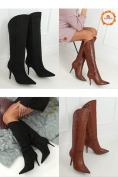 Ballerinas, Knee Boots, Shoes, Fashion, Fashion Styles, Ladies Ankle Boots, Moda, Zapatos, Ballet Flats