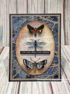 A Vintage Journey: Creative Card Making with Ann Butterfly Cards, Flower Cards, Mixed Media Cards, Beautiful Bugs, Card Making Tutorials, Scrapbook Cards, Scrapbooking, Artist Trading Cards, Card Tags