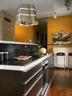 Kitchen design home design Industrial Style Kitchen, Eclectic Kitchen, Modern Kitchen Design, Interior Design Kitchen, Kitchen Decor, Interior Modern, Kitchen Designs, Kitchen Ideas, Home Design