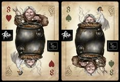 ToT Card Game COOK by FranciscoETCHART