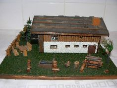 Engineering Scale, Making A Model, N Scale, Model Trains, Scale Models, Scenery, Model Train, Paisajes, Landscape