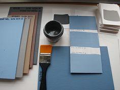 Preparando nuevos colores de pizarra... www.cuartocolor.es