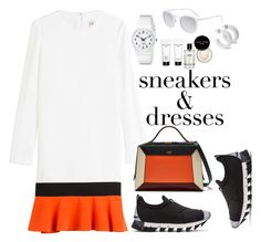 """""""sneakers&dress"""" by ekaterinaaivazyan ❤ liked on Polyvore featuring Emilio Pucci, Dolce&Gabbana, Mulberry, Smoke x Mirrors, Bobbi Brown Cosmetics and SNEAKERSANDDRESSES"""