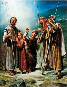 The shepherds..