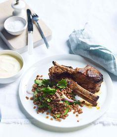 Tandoori lamb & lentils