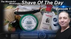 Haddon Brand Straight Razor Shave, Shave Of The Day, Stirling Soap Co, Wonderful Wednesday #SOTD Ep1 https://youtu.be/-MMT3uOth90