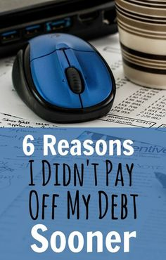 Paying off debt and becoming debt free is never easy, but the sooner you start the better. Here are some odd reasons why I didn't start repaying my debt immediately. Learn from my mistakes today. Debt, Debt Payoff,, #Debt
