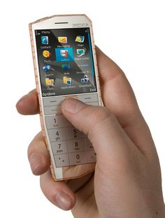 This mobile phone concept can be charged by the heat in your pocket.