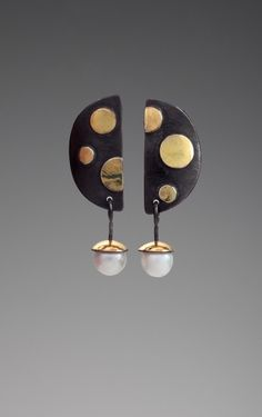 Dot Dot Dot Earrings by Judy H Morgan