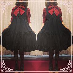 ���新作入荷 #mihomatsuda #fashion #japan #tokyo #osaka #ikebukuro #harajuku#gothic #gothicfashion #classic #lolitafashion #black  #onlineshop