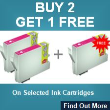 Buy 2 Get 1 Free On Selected Ink Cartridges