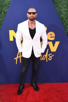 From Avengers: Endgame's Tessa Thompson to Shazam!'s Zachary Levi, here are all the stars on the red carpet for the MTV Movie and TV Awards Celebrity Red Carpet, Celebrity Style, Dave Bautista, Hot Guys Eye Candy, Stunt Doubles, Elisabeth Moss, Tessa Thompson, Aubrey Plaza, Zachary Levi