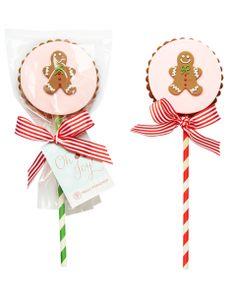 Christmas Plaque Cookie Pop