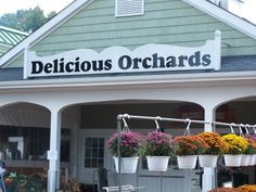 Delicious Orchards - Colts Neck, NJ  Fresh Fruits and Veggies, great place for lunch, also pick your own.